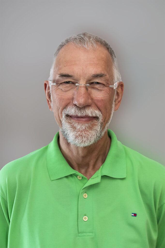 Firmeninhaber Siegbert Fröhlich